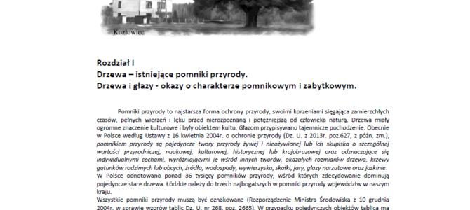 """Współpraca z Gminą Poświętne – PTP zrealizowało projekt: """"Waloryzacja przyrodnicza gminy""""."""